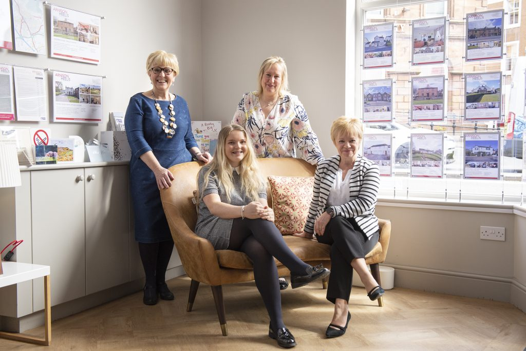 Photoshoot with Arnisons estate agents cumbria social media marketing