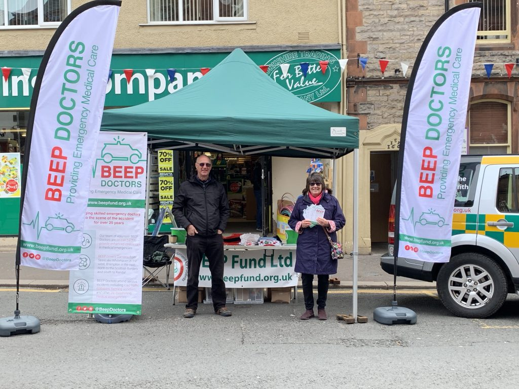 Marketing launch cumbria BEEP doctors