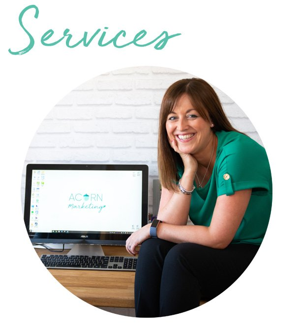 Lisa Jackson marketing consultant Acorn marketing cumbria Services