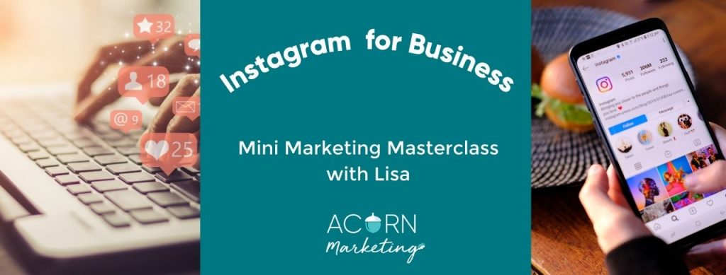 Course on using Instagram for business mini marketing masterclass