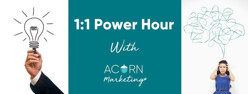 Power hour Marketing and social media coach